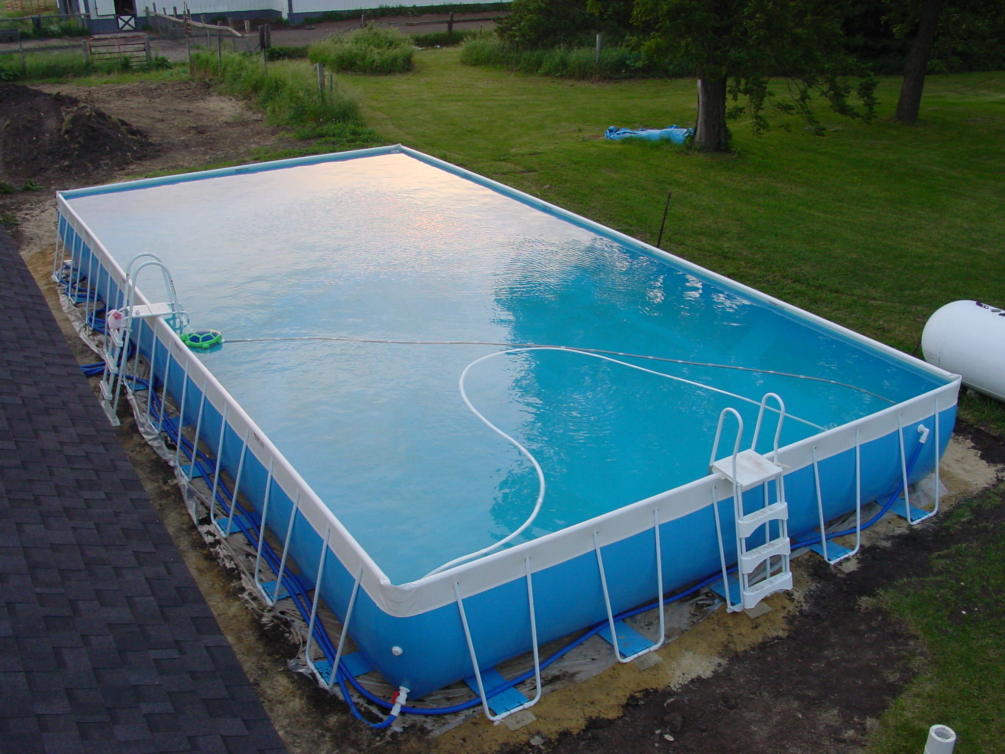 Above ground pools poolside pros - Images of above ground pools ...