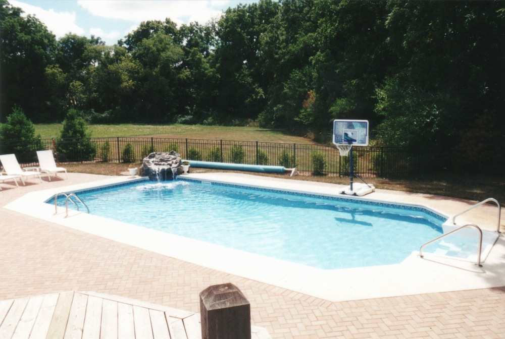 Inground pools renovations poolside pros for Roman style pool design