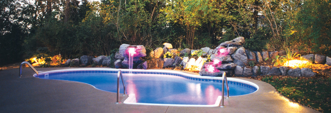 We can Build ALL Shapes and Sizes of Inground Pools!